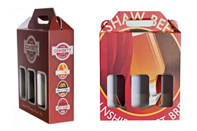 Printed Beer Bottle Boxes Gallery