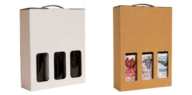 Plain Bottle Boxes